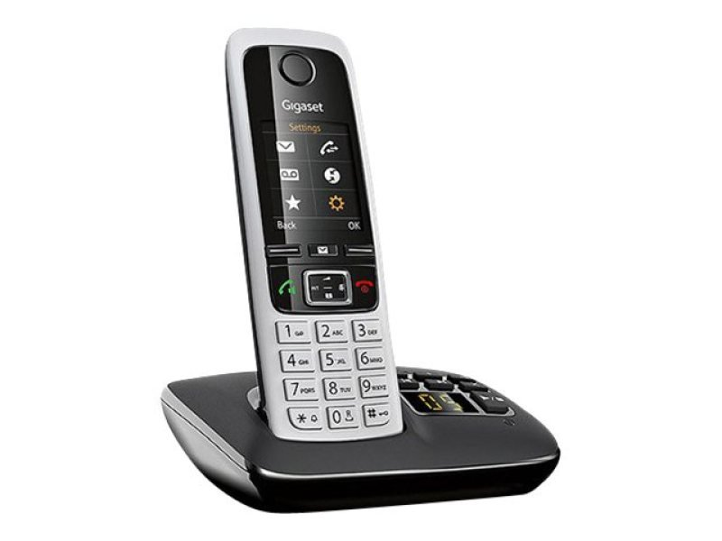 GIGASET C430A Cordless Phone with Answering Machine - Single Handset