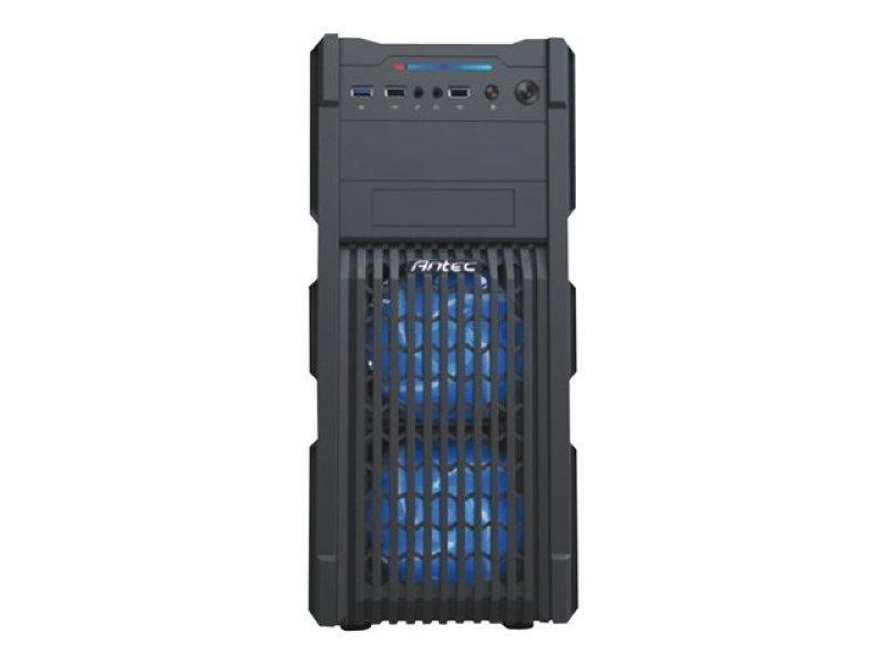 Antec GX-200 USB3 Vented Fascia Blue Led Front Fans Midi Gaming Case