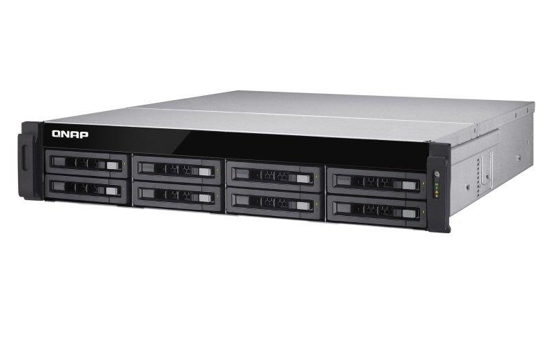 QNAP TS-EC880U-E3-4GE-R2 64TB (8 x 8TB WD GOLD) 8 Bay with 4GB RAM