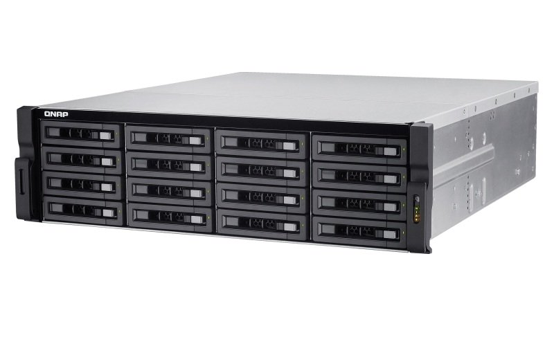QNAP TS-EC1680U-E3-4GE-R2 160TB (16 x 10TB WD GOLD) 16 Bay w/ 4GB RAM
