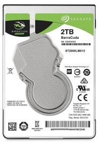"Seagate BarraCuda 2TB Laptop Hard Drive 2.5"" 7mm SATA III 6GB's 5400RPM 128MB Cache"