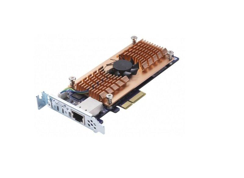 QNAP QM2-2P10G1T Dual M.2 2280 PCIe SSD & Single 10GbE Expansion Card