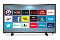 """Cello C40229ANSMT 40"""" Smart Curved TV"""