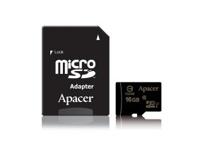 Apacer microSDHC UHS-I Class10 16GB w/ 1 Adapter