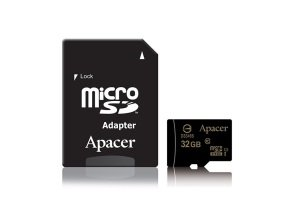 Apacer microSDHC UHS-I Class10 32GB w/Adapter