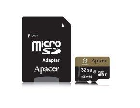 Apacer microSDHC UHS-I U3 95/85 Class10 32GB w/1 Apapter