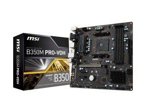 MSI AMD B350M PRO-VDH Motherboard