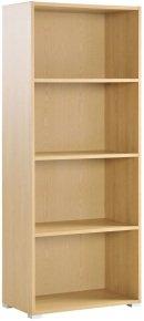 Urban Home Office Tall Bookcase - 3 Shelves 1692mm High - Blonde Oak