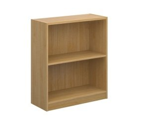 Economy Bookcase 720mm High 1 shelf In Oak