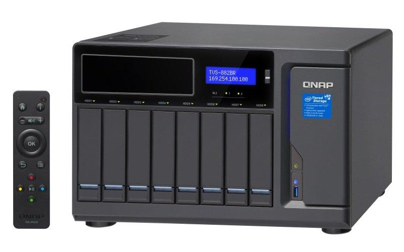 QNAP TVS-882BR-i7-32G 8 Bay Desktop NAS Enclosure with 32GB RAM
