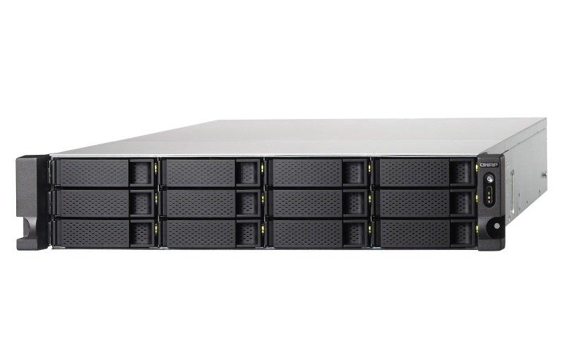 QNAP TS-1273U-64G 12 Bay Rack Enclosure with 64GB RAM