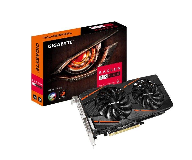 EXDISPLAY Gigabyte AMD Radeon RX 580 4GB GAMING Graphics Card