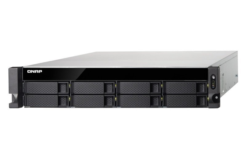 QNAP TS-873U-RP-64G 8 Bay Rack Enclosure with 64GB RAM