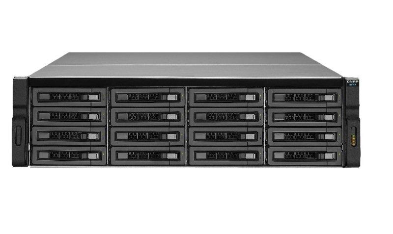 QNAP REXP-1620U-RP 128TB (16 x 8TB WD GOLD) 16 Bay Rackmount Expansion