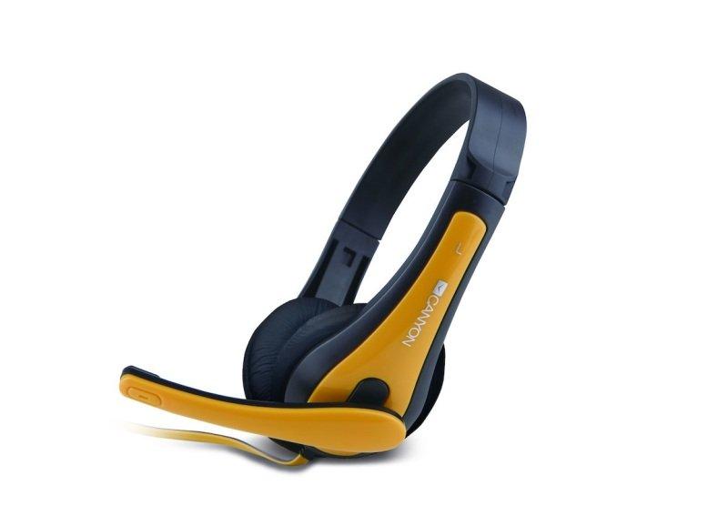 Canyon Black/Yellow Simple PC headset