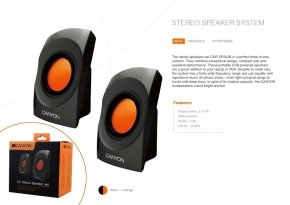 Canyon Stereo speakers set