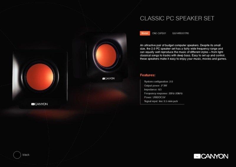 Canyon Futuristic design speakers