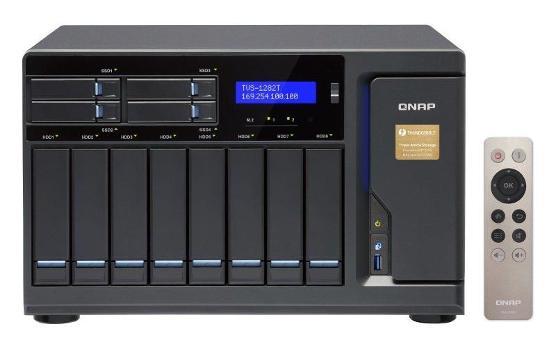 QNAP TVS-1282T-i7-64G 48TB (8 x 6TB WD RED PRO) 12 Bay NAS w/ 64GB RAM