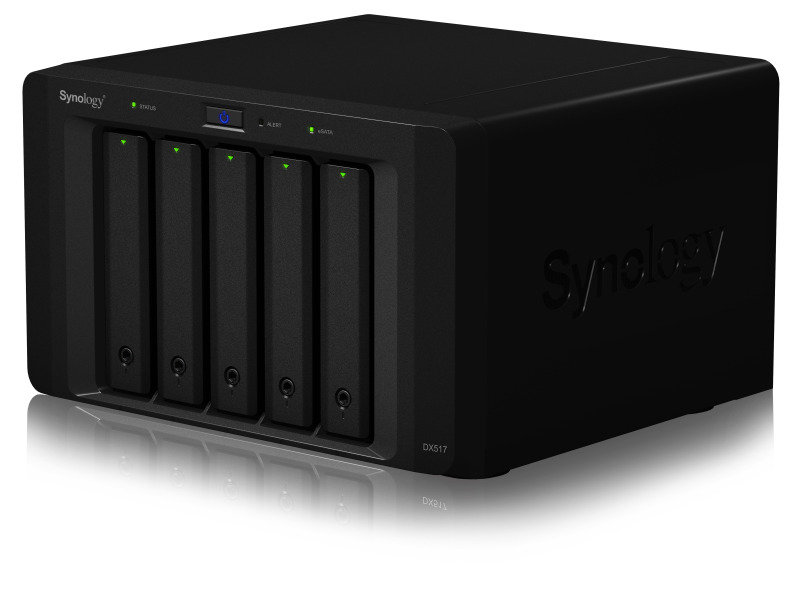 Synology DX517 20TB (5 x 4TB WD RED) 5 Bay Desktop Expansion