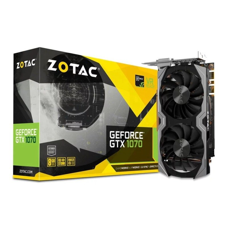 Zotac GeForce GTX 1070 Mini 8GB Graphics Card...