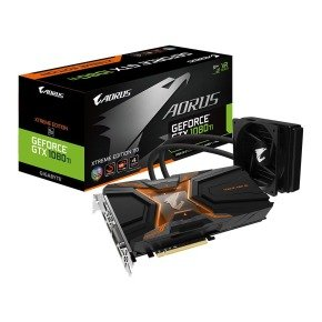 Gigabyte AORUS GTX 1080 Ti 11GB WATERFORCE Xtreme AIO Watercooled Graphics Card