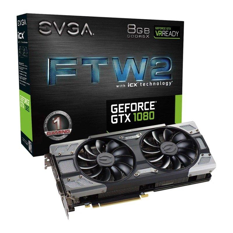 EVGA GTX 1080 FTW 2  iCX Graphics Card