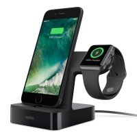 Belkin Charge dock for Apple watch/iphone - Black