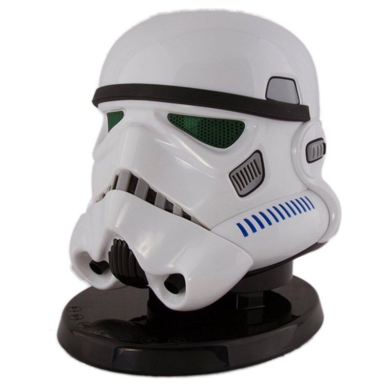 Star Wars Stormtrooper Bluetooth Speaker - White