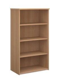Ebuyer 1440mm High Standard Bookcase - Beech