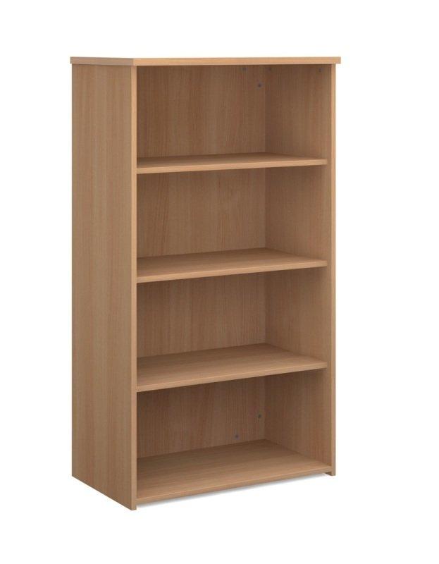 Image of 1440mm High Standard Bookcase - Beech