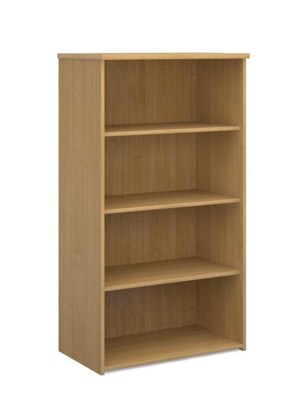 Image of 1440mm High Standard Bookcase - Oak