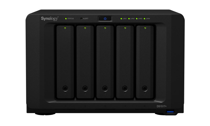 Synology DS1517+ (2GB) 50TB (5 x 10TB WD RED) 5 Bay NAS with 2GB RAM