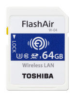 Toshiba 64gb Flashair W-04 Sd Card