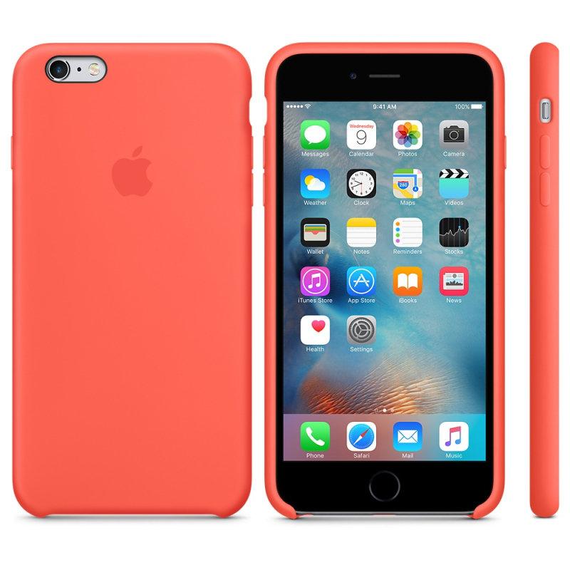 Apple iPhone 6s Plus Silicone Case - Apricot