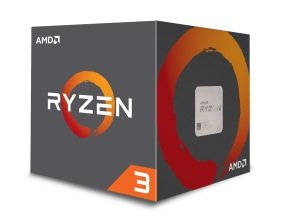 AMD Ryzen 3 1200 AM4 Retail Boxed Processor with Wraith...