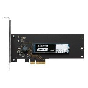 Kingston 960GB KC1000 NVMe PCIe SSD M.2+HHHL AIC