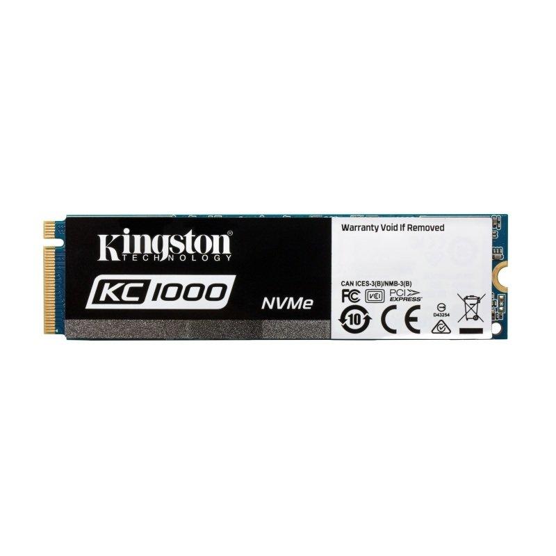 Kingston 480GB KC1000 NVMe PCIe SSD M.2