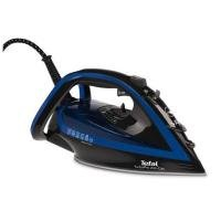 Tefal FV5648 Turbo Pro Anti-Scale Steam Iron, 2600 W, Black/Blue
