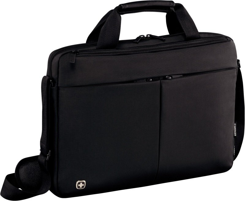 "Wenger 601079 Format 14"" Laptop Slimcase with Tablet Pocket - Black"