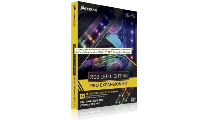 Corsair Rgb Led Lighting Pro Expansion Kit At Ebuyer Com
