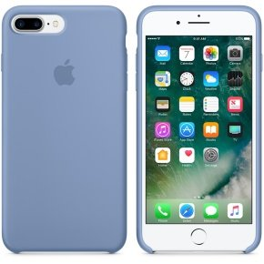 Apple iPhone 7 Plus Silicone Case - Azure (Light Blue)