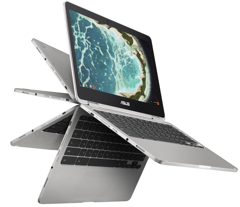 ASUS Chromebook Flip C302CA - Silver