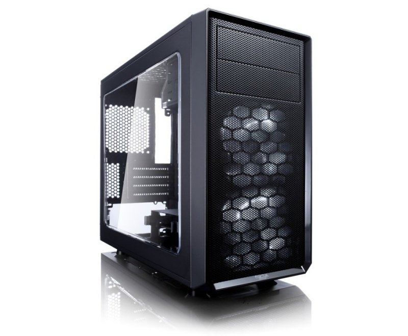 Fractal Design Focus G Front Computer Case with Window,