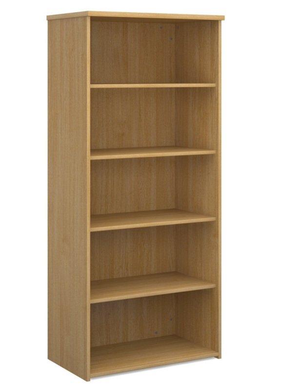 Ebuyer 1790mm High Standard Bookcase - Oak