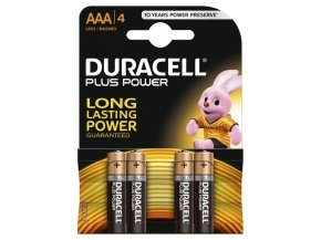 Duracell Plus Power AAA Plus 1 pack of 4