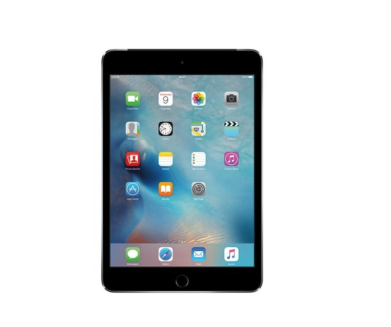 "Apple iPad mini 4 7.9"" Wi-Fi+Cell 128GB-S Grey cheapest retail price"