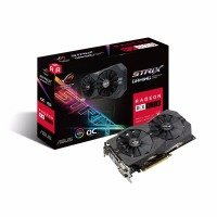 Asus AMD Radeon RX 570 ROG STRIX OC 4GB Graphics Card