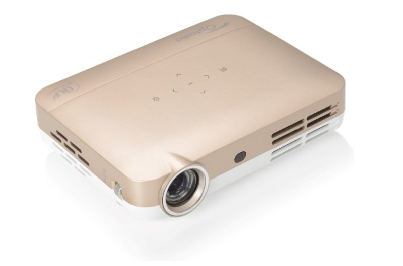 Optoma ML330 Compact Android LED Projector GOLD
