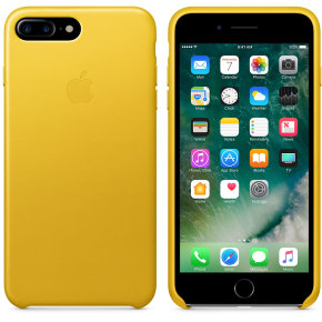 Apple iPhone 7 Plus Leather Case - Sunflower