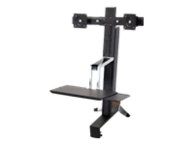 Ergotron WorkFit-S Dual Sit-Stand Workstation